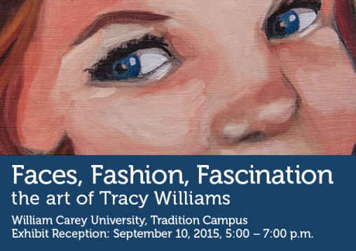 Faces, fashion, fascination: the art of Tracy Williams
