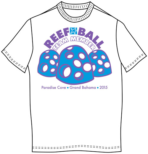 reef ball team graphic