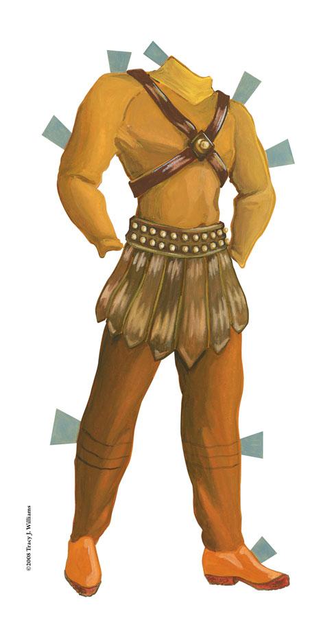 leather gladiator