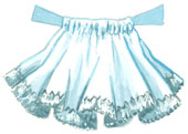 Madame Alexander Scottish girl petticoat.