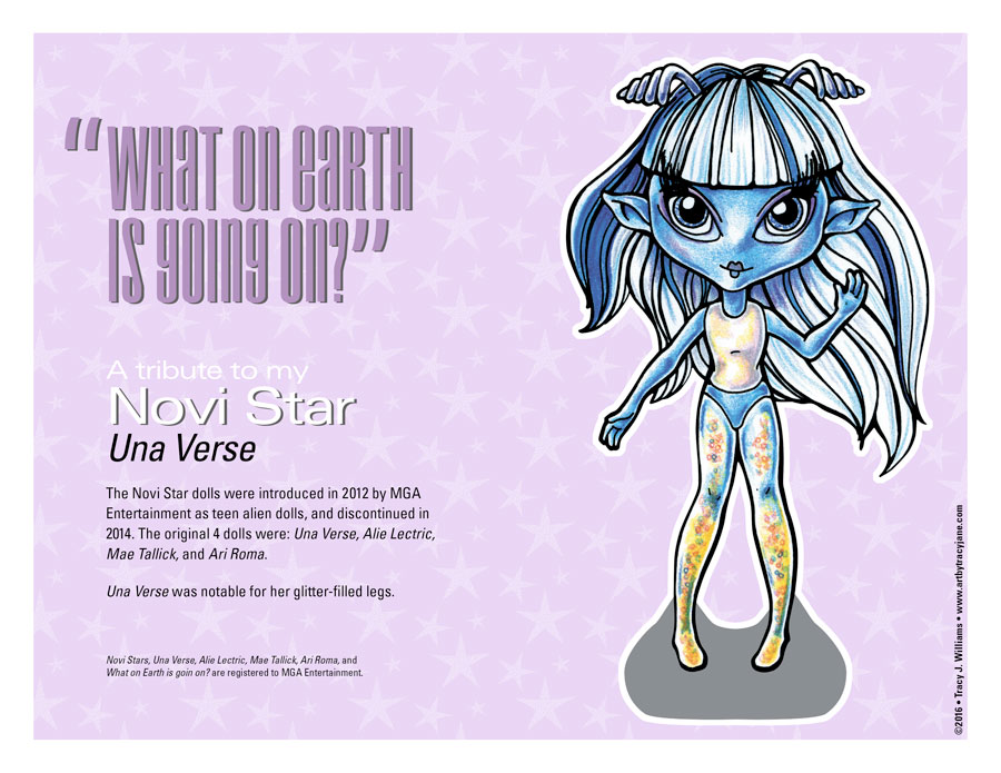 Novi Star paper doll.